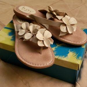 b.o.c Floral Flip Flops
